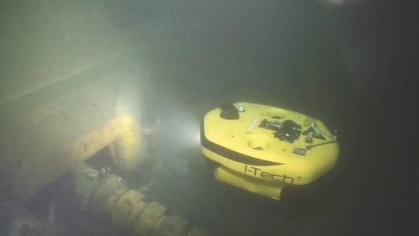O AIV da i-Tech 7 realizou testes com o Equinor. (Foto: i-Tech 7)