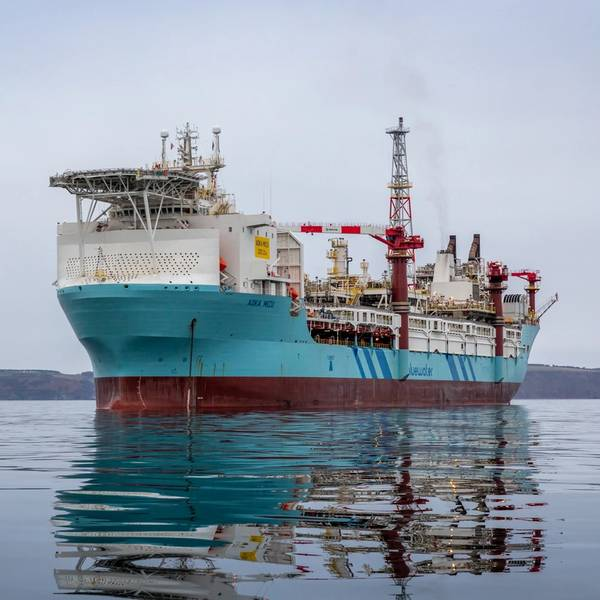Aoka Mizu FPSO(照片:Hurricane Energy)