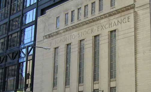 Die Börse von Toronto (Foto: William Stoichevski)