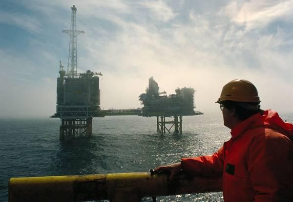 ETAP-Plattform (Eastern Trough Area Project) - Bildnachweis: BP