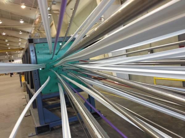 Elementos que se unen en el punto de cierre estático de Oscilay. (Foto: Aker Solutions)