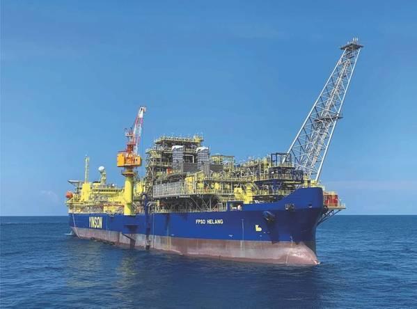 FPSO Helang - Crédito: JX Nippon Oil & Gas