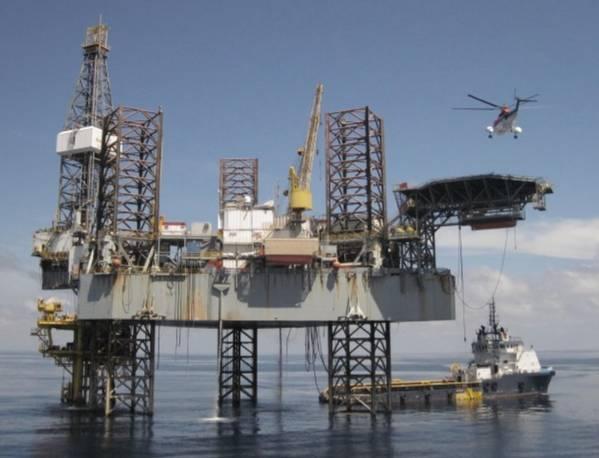 Gut platziert: Shelf Drilling, Flachwasser-Hebevorgang (Foto: Shelf Drilling)
