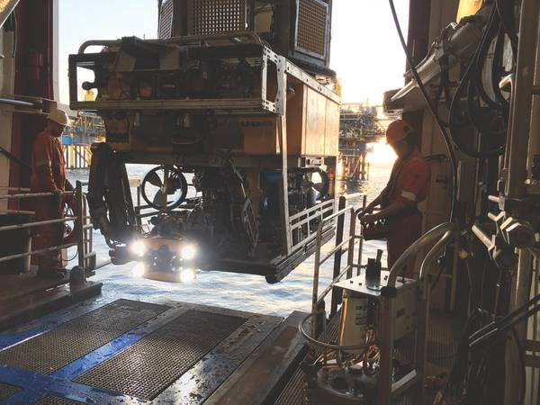 ComexのORUS3Dシステムは、2018年に北海での運用のためにROVに統合されました。(出典:Comex Innovation)