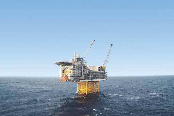 Ivar Aasen ، التي تديرها شركة Aker BP ، هي أول منصة مأهولة على الجرف القاري النرويجي يتم التحكم فيها من الأرض. (الصورة: Aker BP)