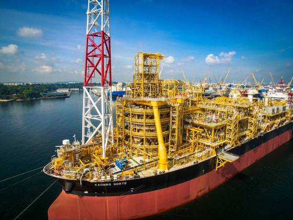 Kaombo FPSO unterstützt die Vollfeldproduktion des französischen Großkonzerns Total im Offshore-Feld Kaombo in Angola. (Foto: Gesamt)