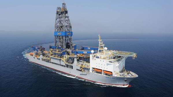 Mako-1遇到了大约50米的优质含油砂岩油藏。钻进1,620米水深处的Mako-1位于Liza油田东南约10公里处。 (照片:赫斯)