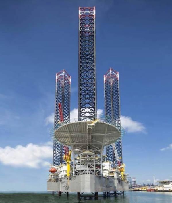 Namen sagen: der Adriatic 1 Premium Jack-Up - Quelle: Shelf Drilling