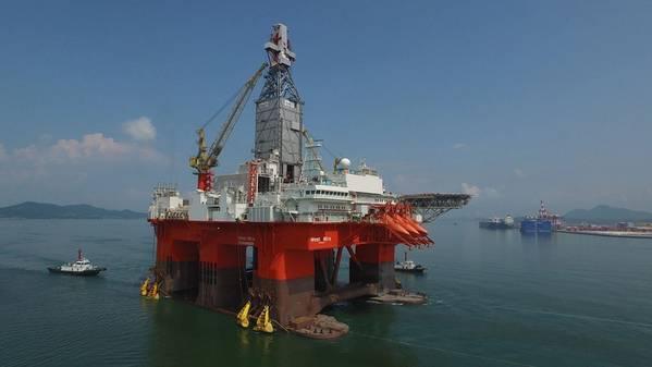 A Northern Drilling, que possui dois navios-sonda e dois semisubs (incluindo o da foto), encomendou um terceiro navio para entrega no primeiro trimestre de 2021 (Foto: Northern Drilling)