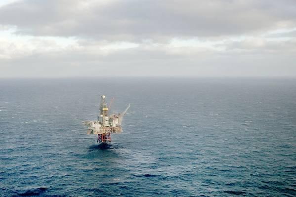 Nova era do petróleo: a infraestrutura Balder-Ringhorn da Vår Energi, a plataforma Ringhorn (Foto: Vår Energi)