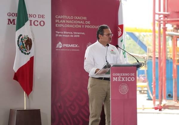 Octavio Romero Oropeza, CEO de Pemex, (Foto: Pemex)