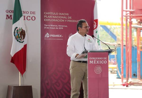 Pemex CEOのOctavio Romero Oropeza、(写真:Pemex)