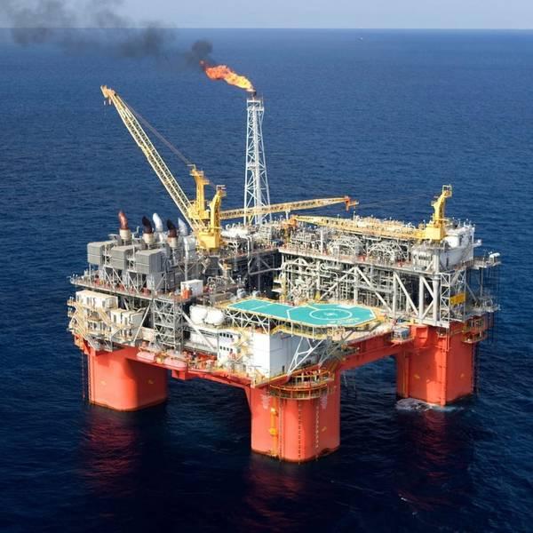 Plataforma Atlântida (Foto: BP)