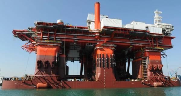 "Proprietários ""novos"": a sonda híbrida West Mira, agora da Northern Ocean Ltd. (Foto: Northerrn Drilling)"