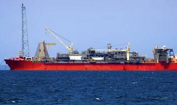 Το SeaRose FPSO βρίσκεται στο πετρέλαιο και το φυσικό αέριο White Rose, περίπου 350 χιλιόμετρα από τις ακτές του Newfoundland, τον Καναδά στο Βόρειο Ατλαντικό. (Φωτογραφία: Husky Energy)