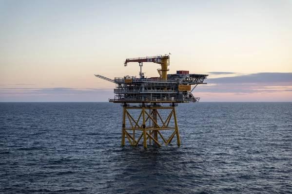 Valhall Flank West是一种新的常规无人装置(NUI),它是Valhall油田持续发展的一部分。 (照片:Aker BP)