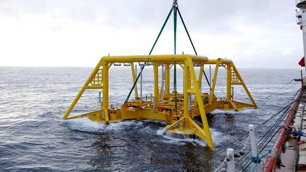 Vigdis subsea स्थापना (फोटो: आंद्रे 'Osmundsen / Equinor)