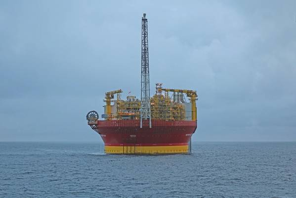 Western Isles FPSO σε τοποθεσία (Χορηγία εικόνας από την Dana Petroleum)