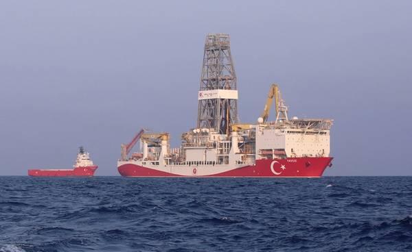 Yavuz (Φωτογραφία: Τούρκος Υπουργός Ενέργειας και Φυσικών Πόρων)