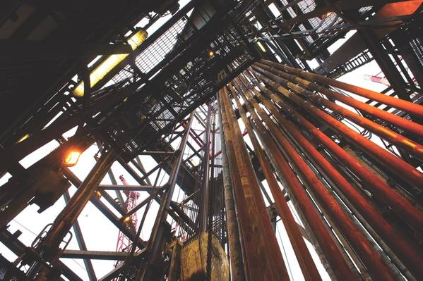 El jack-up Maersk Gallant (Foto: Ole Jørgen Bratland / Equinor)