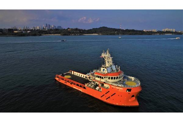 Bailey Sentinel, which has commenced operations in the North Sea. (Photo: Sentinel Marine)