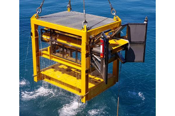 Modus' H-AUV1 subsea dock. Photo from Modus.