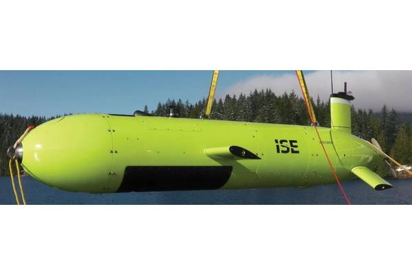 Payload-flexible: ISE Explorer 6000 class and ISE 3000 R&D AUVs. Photo Credit: International Submarine Engineering