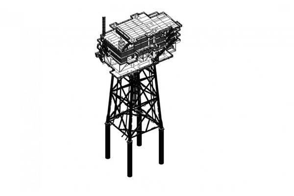 Substation Illustration - Credit: Eiffage