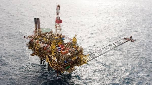 Большинство операций Exxon в Британском Северном море осуществляется через совместное предприятие 50-50 с Royal Dutch Shell, известное как Esso Exploration and Production UK, и включает в себя интересы почти 40 месторождений нефти и газа. (Файл фото: Shell)