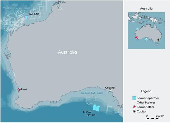 地图:Equinor