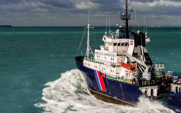 正在归档的波旁海上支援船的图像。积分:波旁威士忌