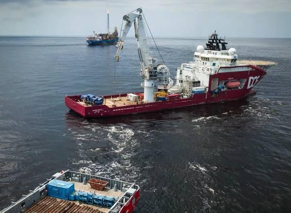 非洲助推:DOF水下轻型建造船(照片:DOF Subsea)