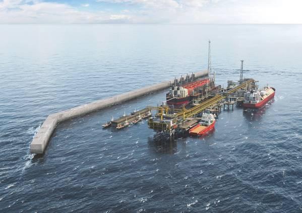 BPのTortueプロジェクトは昨年末に緑色の光を与えられ、2022年にオンラインになる予定です。(画像:BP)