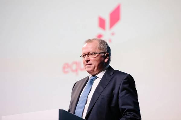 Equinor CEOのEldar Saetre(写真:OleJørgenBratland / Equinor)