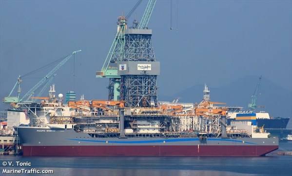 Pacific Sharav - Imagem por V. TONIC - Tráfego marítimo