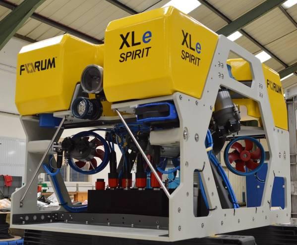 XLe Spirit (Φωτογραφία: Υποθαλάσσια Τεχνολογίες Φόρουμ)