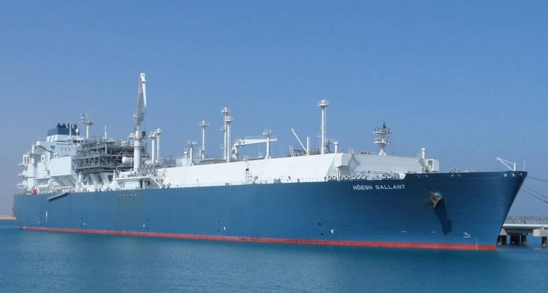 Hoegh LNG Vessel to Leave Egypt Before Weekend
